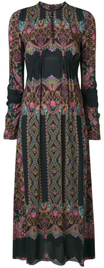 Etro paisley print long dress