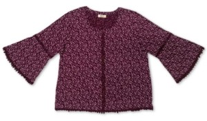 Style&Co. Style & Co Petite Cotton Flower-Print Top, Created for Macy's
