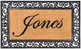 """Nance Industries NC-1972-0116 Yourown Custom Name Monogrammed Rubber Welcome Mat, 24"""" x 39"""""""