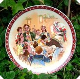 Wedgwood Bradex Plate 87 Christmas Pudding John Finnie