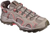 Salomon Women's Techamphibian 3 Water Shoe, Vintage Kaki/Bungee/Living Coral, 8
