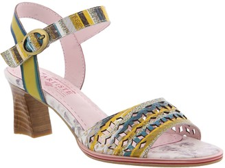Spring Step L'Artiste by Leather Ankle Strap Sandals - Madelyn