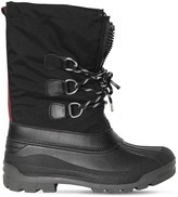 Dsquared2 Nylon Snow Boots W/ Leather Details