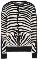 Stella McCartney zebra jacquard sweater
