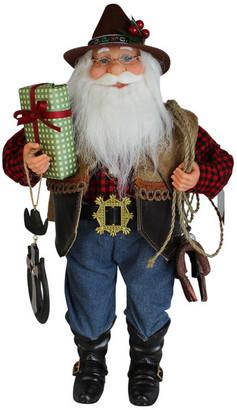 Windy Hill Collection Cowboy Santa