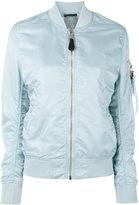 Alpha Industries arm pocket bomber jacket - women - Nylon - M