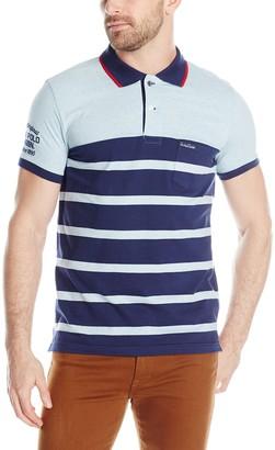 U.S. Polo Assn. Men's Slim Fit Color Block Jersey Polo