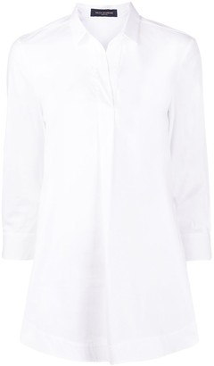Piazza Sempione Relaxed-Fit Open-Collar Shirt