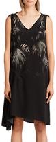 AllSaints Neluwa Silk Dress, Black