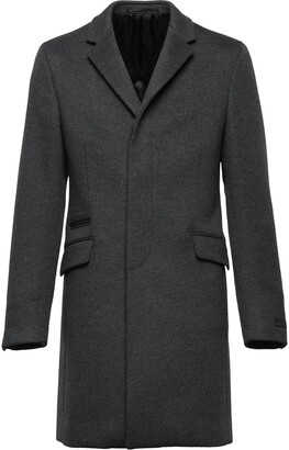 Prada Cashmere And Wool Coat