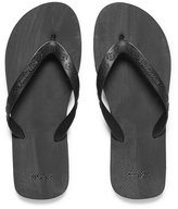 BOSS ORANGE Men's Loy Flip Flops Black
