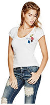 GUESS Women's Ashlee Patch Tee