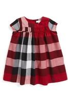 Burberry Infant Girl's Ariadne Check Dress