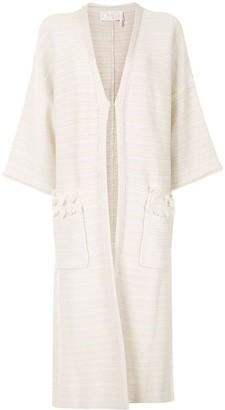 Chloé Horizontal-Stripe Jacket