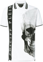 Philipp Plein skull print polo shirt - men - Cotton - S