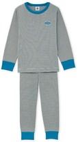 Petit Bateau Boys milleraies striped pyjamas