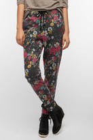 BDG Tapered Floral High-Rise Lounge Pant