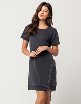 Others Follow Lace Up Dress