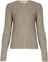 Valentino Ribbed-knit wool-blend sweater