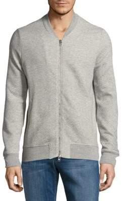 J. Lindeberg Textured Jersey Hood Jacket