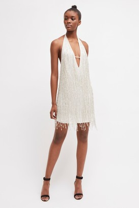 French Connection Celosia Shine Sequin Mini Dress