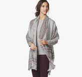 Johnston & Murphy Brushed Plaid Oversized Scarf