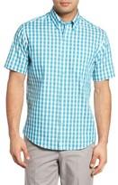 Cutter & Buck Men's Los Rios Check Wrinkle Free Sport Shirt