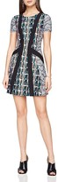 BCBGMAXAZRIA Aleah Abstract-Print Dress