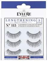 Eylure Lengthening Eyelash Multipack,3 Count