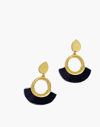 Madewell Fringe Statement Earrings