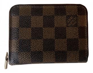 Louis Vuitton Zippy Other Cloth Purses, wallets & cases