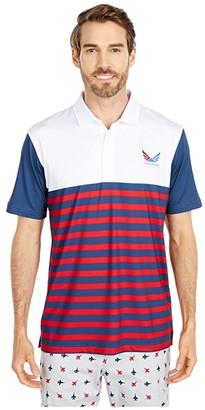 Puma Volition(r) Allegiance Polo (Dark Denim) Men's Clothing