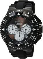 Invicta Men's 'Excursion' Quartz Stainless Steel and Silicone Casual Watch, Color: (Model: 23041)