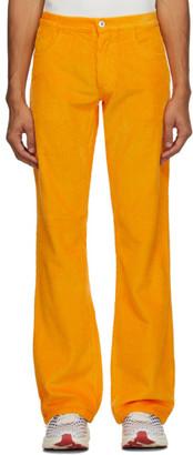ERL Orange Corduroy Trousers