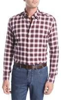 Brioni Plaid Cotton Shirt