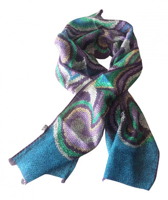 Missoni Blue Silk Scarves