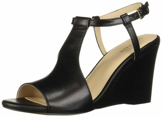 Cole Haan womens Maddie Open Toe (80mm) Wedge Sandal