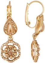 Carolee Double Stone Drop Earrings