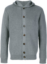 Eleventy button up ribbed cardigan