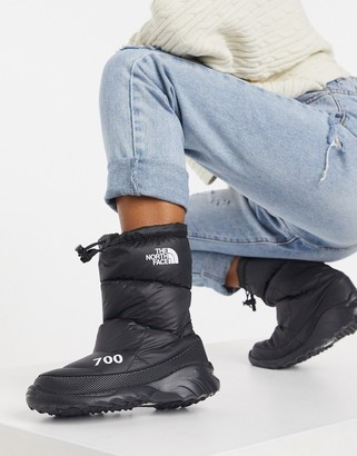 The North Face 700 Nuptse boot in black