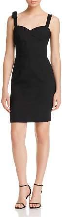Black Halo Zahara Bow-Detail Dress