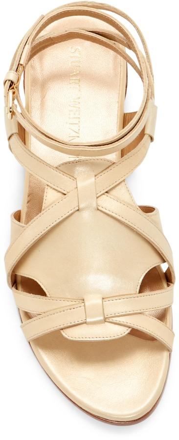 Stuart Weitzman Greek Gladiator Sandal
