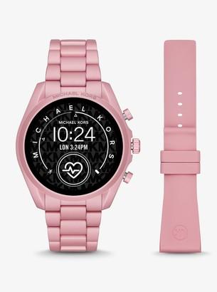 Michael Kors Gen 5 Bradshaw Blush-Tone Aluminum Smartwatch