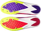 Brooks Women's Mach 18 Track Spike Shoe (BRK-120229 1B 38887302 CORAL/PURPLE/BLA)