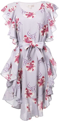 Morgan Lane Delphine ruffle dress
