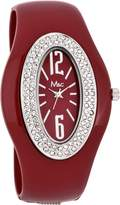 MC M&c Women's Stylish CZ Bangle Watch