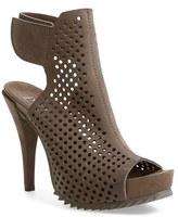 Pedro Garcia Women's 'Persis' Perforated Suede Platform Sandal