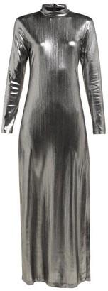 Bella Freud Radzville Shimmering Maxi Dress - Silver