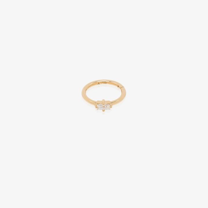 Lizzie Mandler Fine Jewelry 18K yellow gold diamond earring