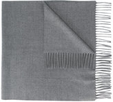 Kenzo fringed scarf - men - Wool - One Size